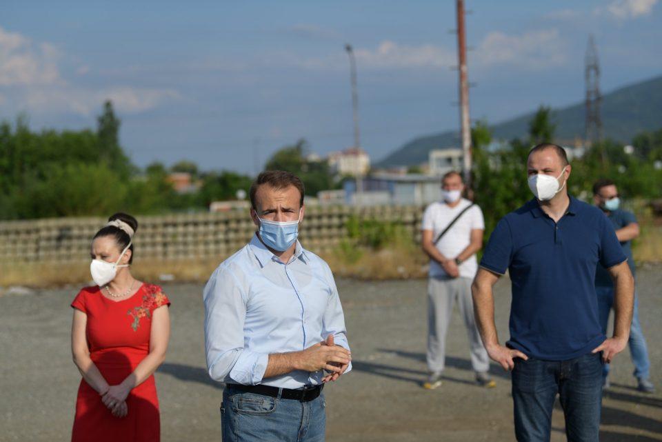 Стојаноски, Мисајловски, Мизрахи и Менкиноска на средба со граѓаните од Даме Груев