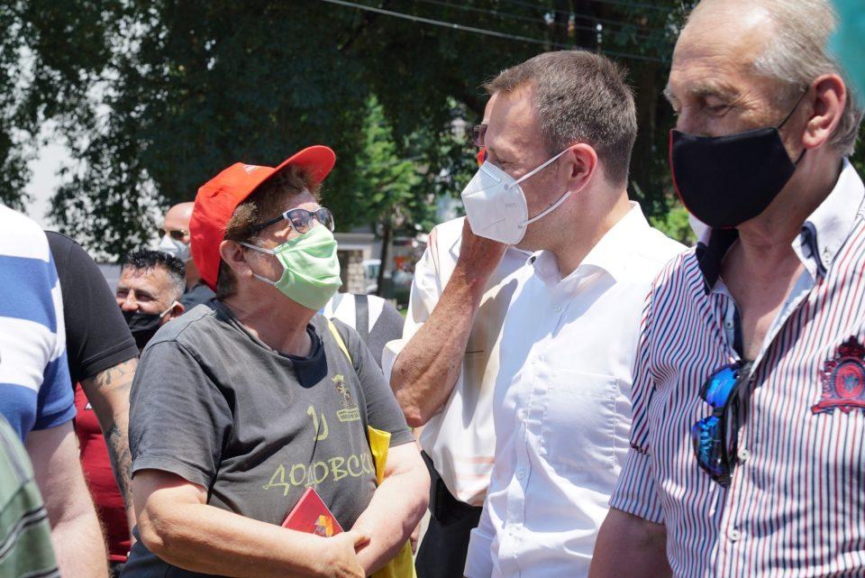 Јанушев: Ништо нема да нѐ поколеба во намерата да си ја сочуваме Македонија