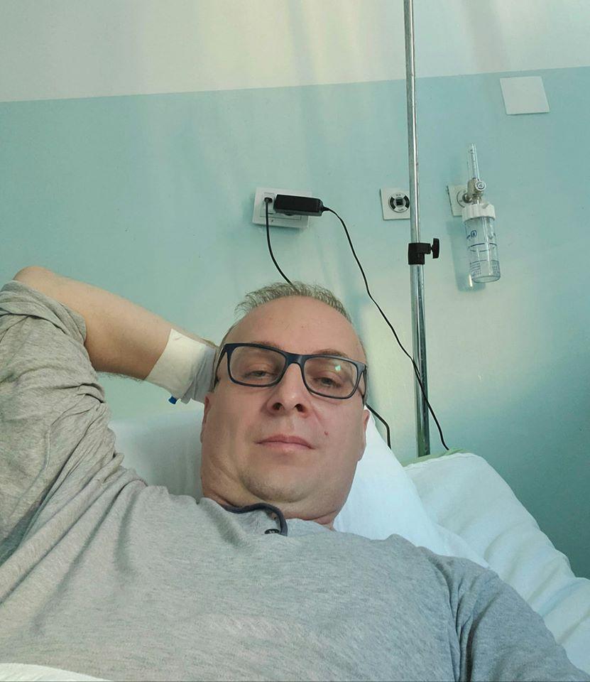 Милошоски со порака од Инфективна клиника: Јас сум добар, благодарност до мединицскиот персонал кој се грижи за мене