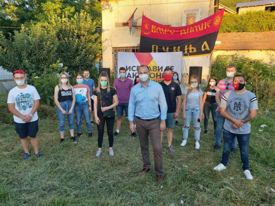 Мисајловски пред жителите на Пчиња ги претстави проектите кои ќе донесат обнова на Македонија по 15 јули (ФОТО)