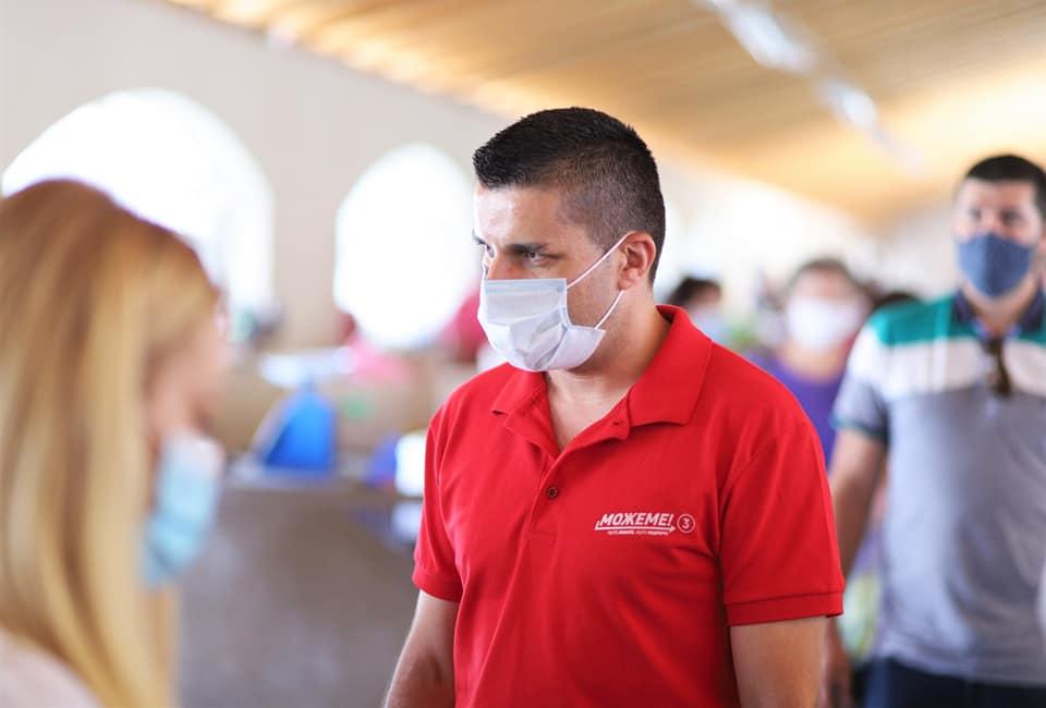 ФОТО: Љупчо Николовски снимал спот во фабрика која е корона кластер