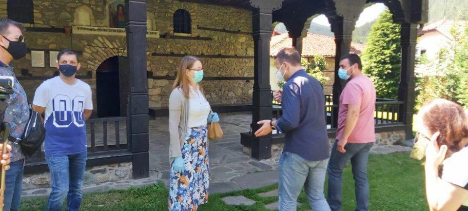 Јанушев во посета на Берово