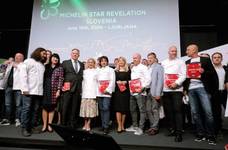 Шест ресторани во Словенија добија Мишелинова ѕвезда