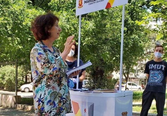 Силјановска: Проект Обнова има многу добри проекти за граѓаните