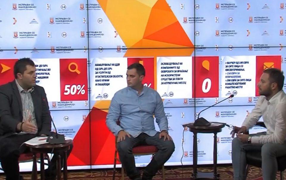 """Live Chat на ВМРО-ДПМНЕ на тема """"Преодна стратегија за справување со здравствено економската криза"""""""
