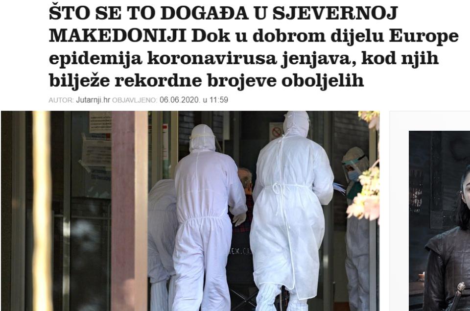 РЕГИОНОТ И СЕ ЧУДИ НА МАКЕДОНИЈА: Медиумите пишуваат дека во Европа пандемијата ја снемува, а ние рушиме рекорди! (ФОТО)