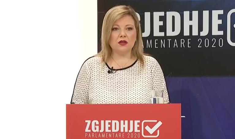 Николовска: На Академијата за судии и јавни обвинители се примени деца и снаи на лица блиски до СДСМ