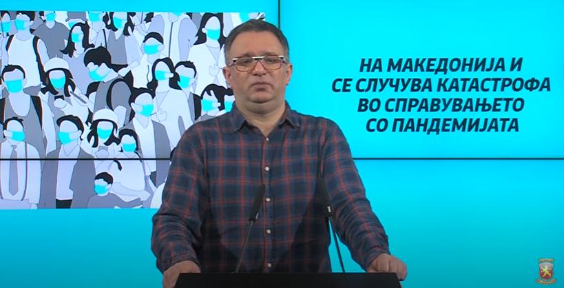Кузмановски: Граѓаните се соочуваат со последиците од несоодветните политики преземени од СДСМ