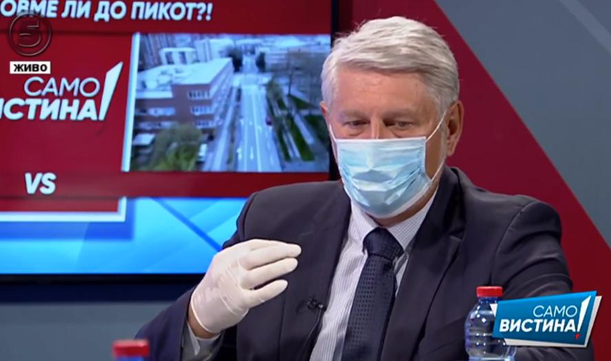 Јакимовски: Република Македонија се наоѓа во тотален хаос во справување со пандемијата