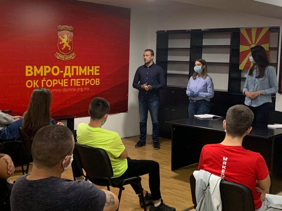 Стојаноски: Младите луѓе ќе изберат обнова за Македонија