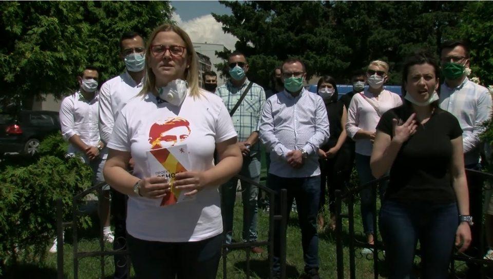 Стојаноска: Заедно со младите ќе ја започнеме обновата на Македонија и ќе креираме подобра иднина за нив