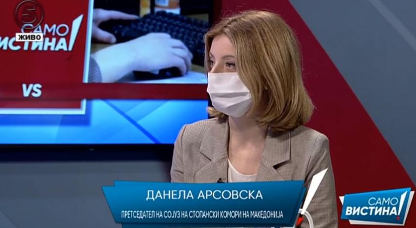 Арсовска до Ангеловска: Третиот пакет мерки не може да се нарече пакет за опоравување, кога бизнисите се во фаза на преживување
