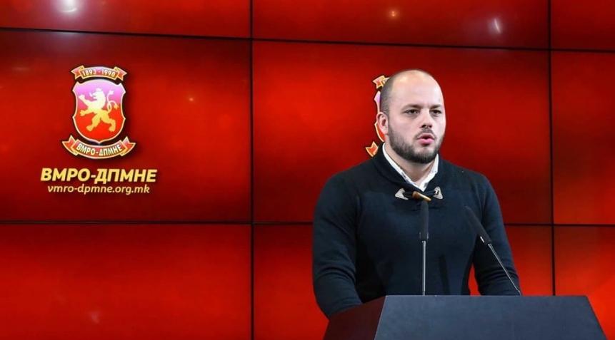 Костовски: ВМРО-ДПМНЕ останува да протестира се додека не падне мафијашката власт