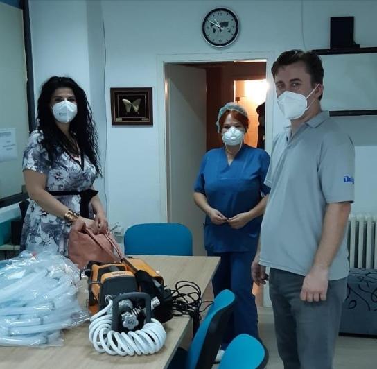 Донација од Кожувчанка за Клиниката ТОАРИЛУЦ