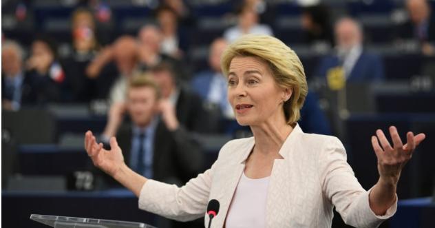 Урсула фон дер Лајен ќе го одржи својот годишен говор пред ЕП во Стразбур