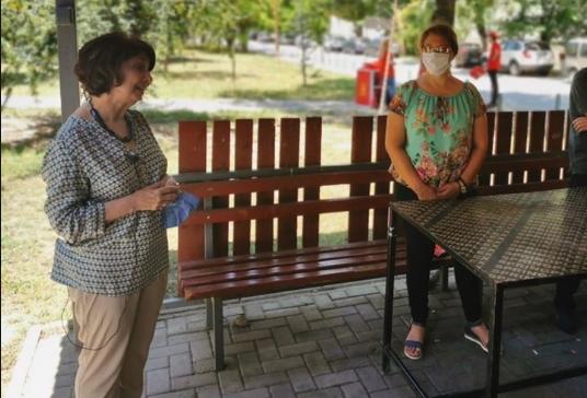 Силјановска на средба со професори во Карпош: Ќе го вратиме квалитетот на образовниот процес