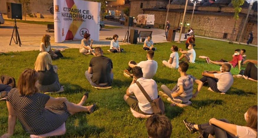 Силјановска Давкова до младите: Со вашата сила ќе ја исправиме Македонија