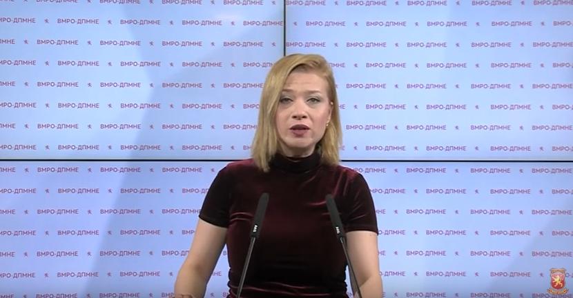 """Василевска: Во """"Јавна соба"""" имало и полицајци, а власта ги крие"""