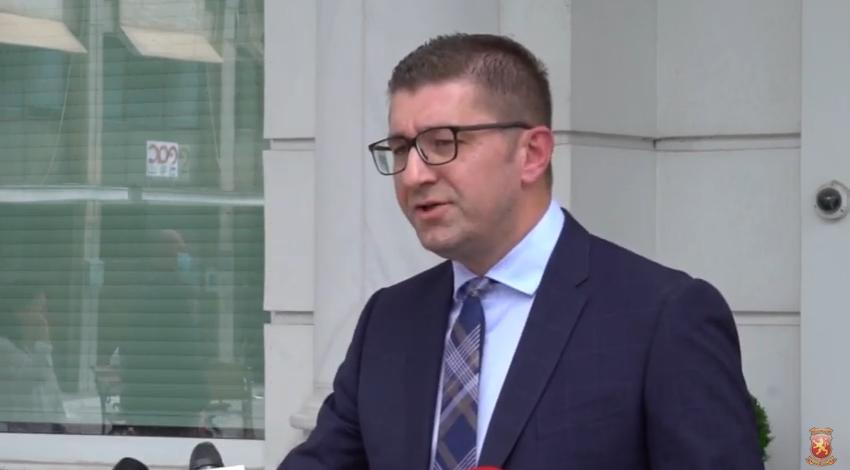 Мицкоски: Одиме на избори со услов заштита на здравјето на граѓаните и мисијата на ОБСЕ/ОДИХР, за да го поразиме вториот вирус Заев