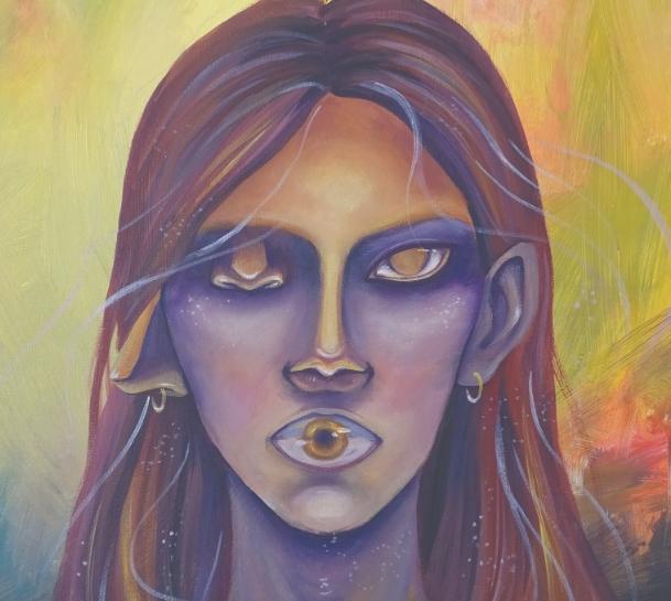 Прва самостојна изложба на Марија Ќурчиева