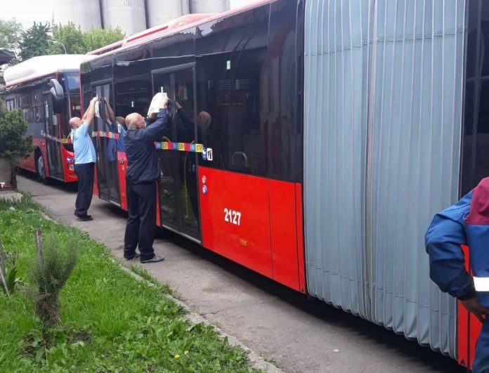 Поради неплатен ДДВ, новите еко-автобуси останаа во гаражите