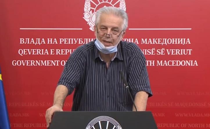 Поради ковид хоспитализиран претседателот на Комисијата за заразни болести, Караџовски