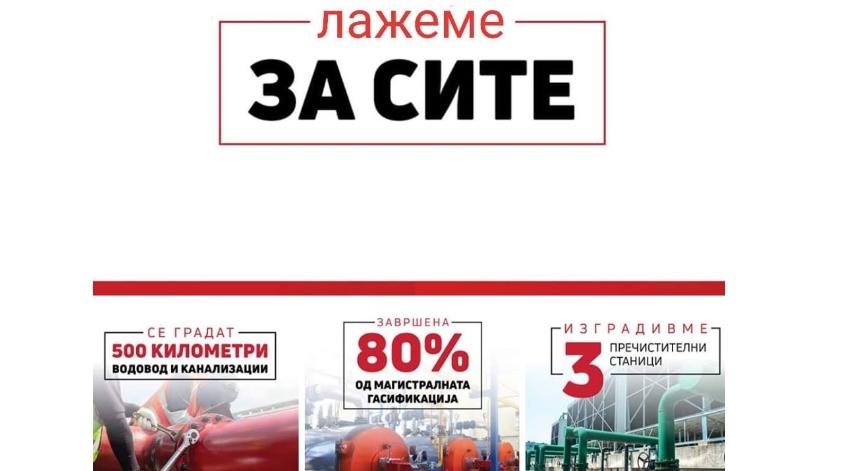 Комисии на ВМРО-ДПМНЕ: Силни на ветувања и одлични во лажење-тоа е СДСМ