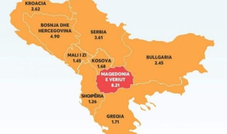 """""""Џон Хопкинс"""": Македонија со катастрофален индекс на смртност од коронавирус"""