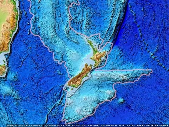 ФОТО: Нови мапи откриваат како изгледал осмиот континент кој се наоѓа под Пацификот