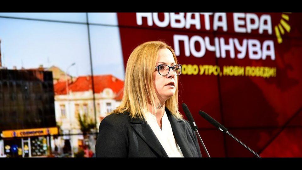 Стојаноска: Младите ќе останат во Македонија, ќе има нови работни места и повисоки плати