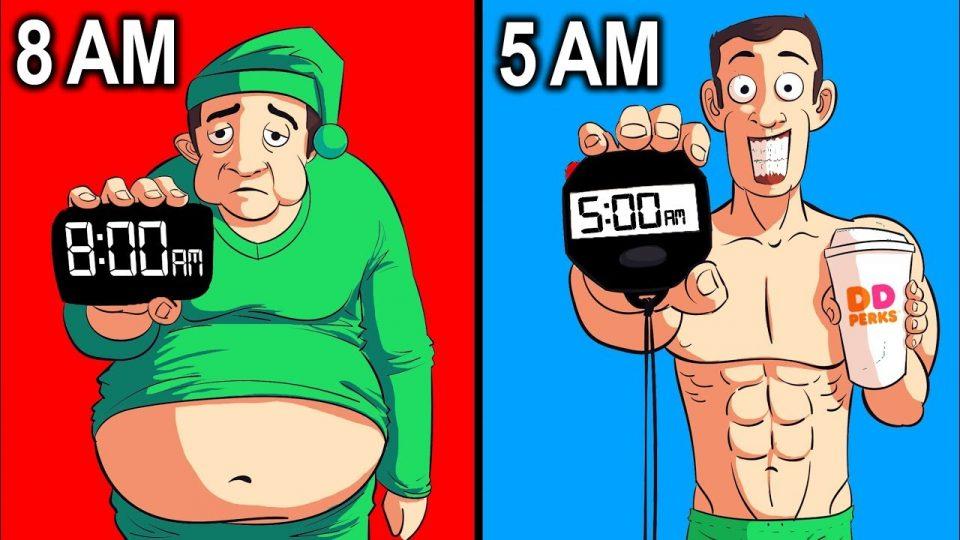 Како станувањето порано влијае врз топењето калории?