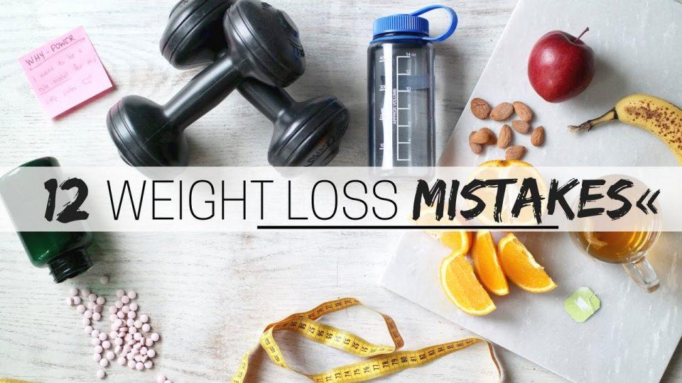 12 најчести грешки при обид за намалување телесна тежина