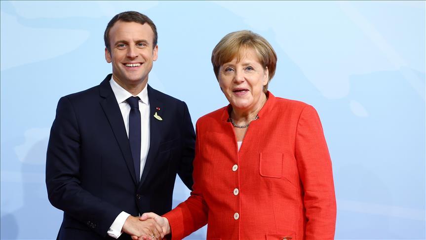 Средба Меркел-Макрон во пресрет на германското претседателство со ЕУ
