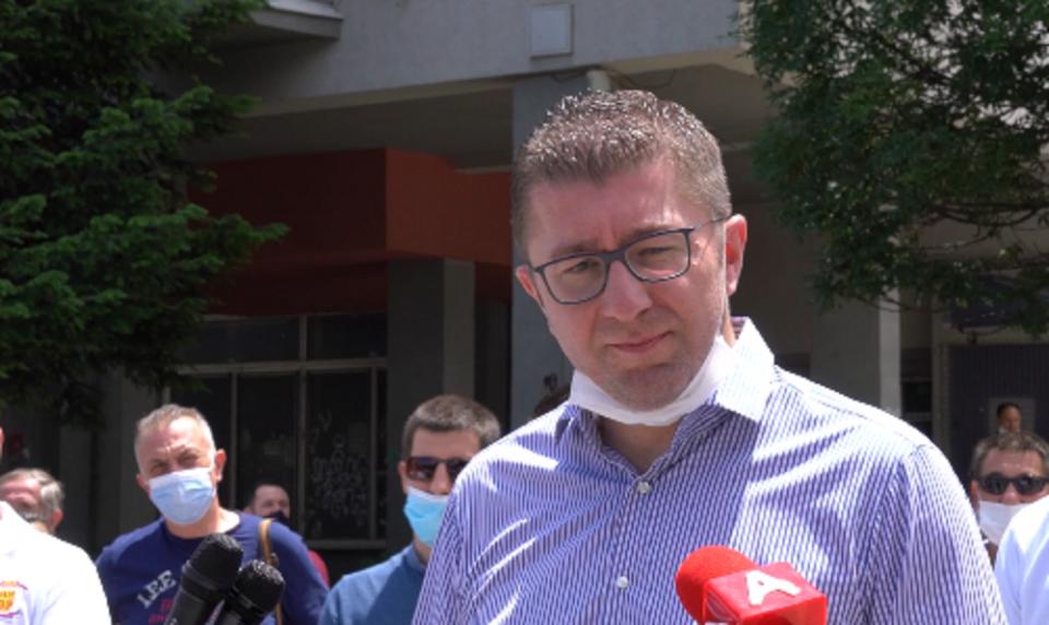 Мицкоски: На Македонците им е преку глава да бидат граѓани од втор ред