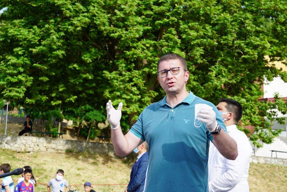 Мицкоски од Велгошти: Ќе ја обновиме Македонија од пепелот кој што ќе го наследиме од СДСМ