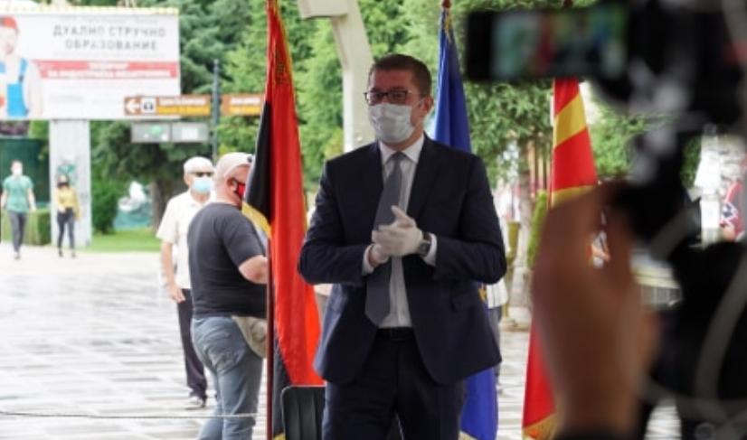 Мицкоски до граѓаните: Вие никогаш до сега не ја разочаравте Македонија, а сега Македонија не смее да ве разочара вас