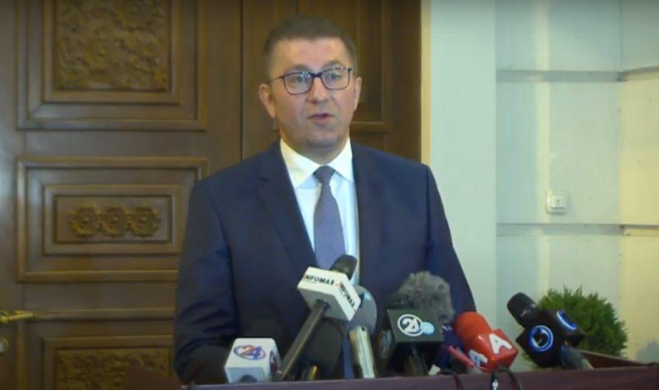 Мицкоски: Одиме на избори,исполнети се нашите услови, ќе има протокли за заштита на граѓаните и присуство на Мисијата на ОБСЕ/ОДИХР