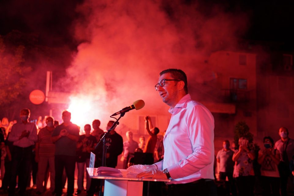 Мицкоски од Кавадарци: Доста ни ја газеа честа и достоинството, Македонецот е решен да се бори за Македонија