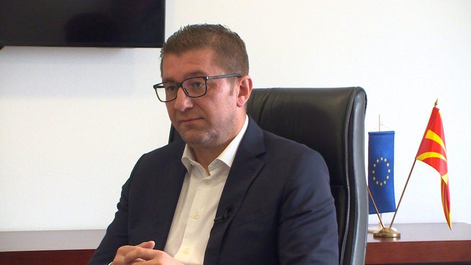 Мицкоски: По победата останувам во мојот дом, не се селам во премиерската вила