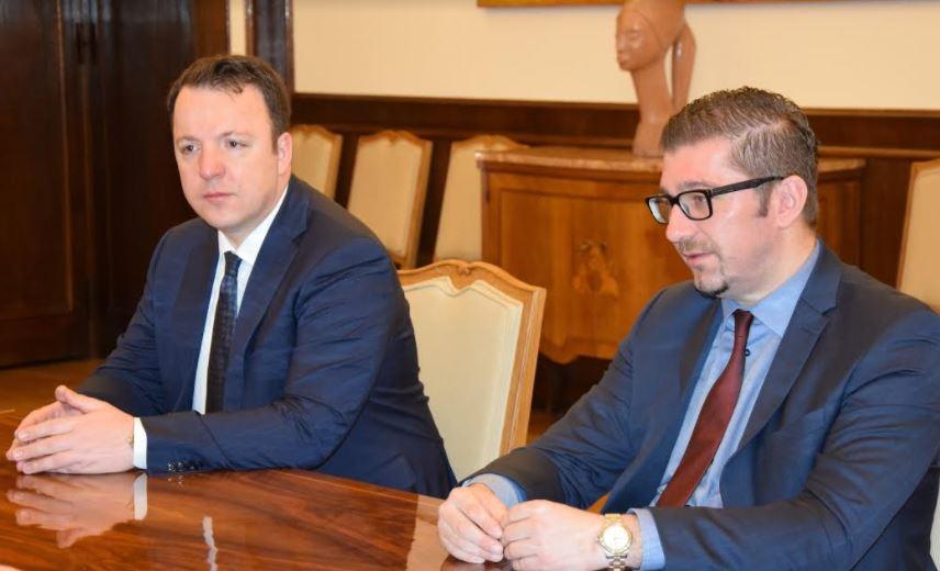 Мицкоски и Николоски во посета на Општина Струмица