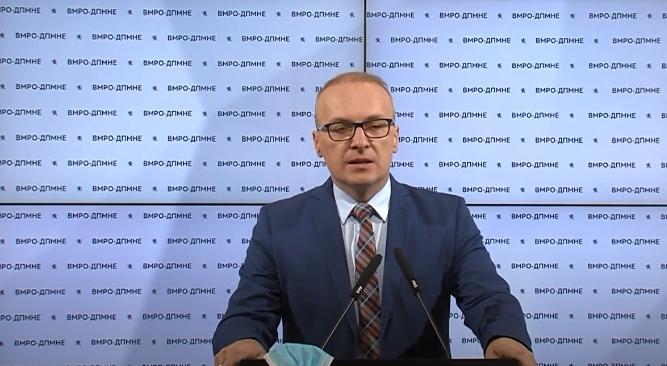 Милошоски: СДСМ пред изборите бараше оставка од Чулев, денес Заев молчи за МВР, Спасовски и Филипче кога на ден имаме по 22 починати