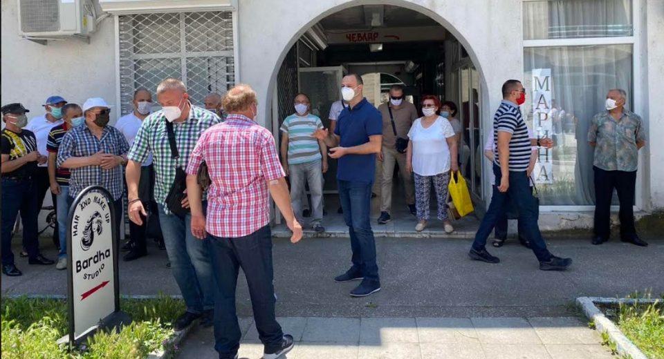 Мисајловски на средба со пензионерите во Бутел: ВМРО-ДПМНЕ отсекогаш се грижела за вас, тоа ќе го почувствувате со зголемување на пензиите
