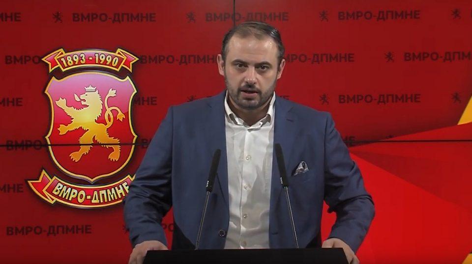 Ѓорѓиевски: Криминалната власт на Заев му дава апанажа на Дончев, ликот кој цела јавност го виде како става снопчиња пари во својата чанта