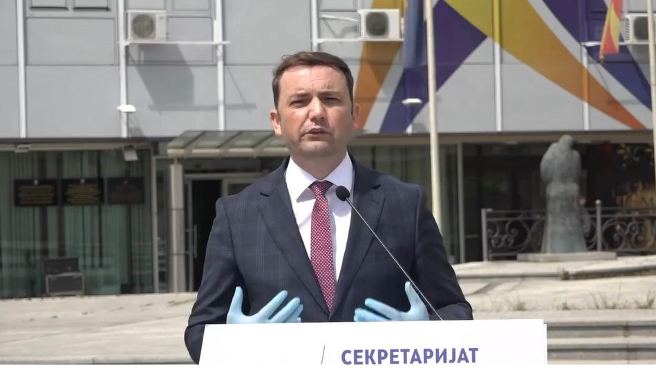 ДУИ се спрема за гласање на дијаспората, Османи јавно побара отворање граници без ограничувања