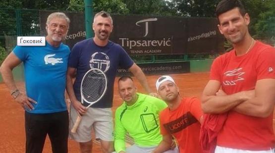 Тренерот на Ѓоковиќ позитивен на коронавирус