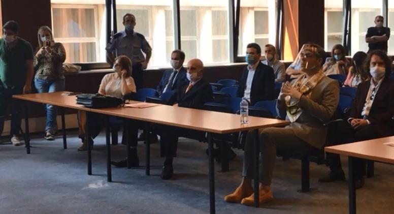 """Пресуда за """"Рекет"""": Јовановски во судница, Јанева во домашен притвор"""