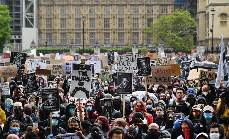 Илјадници граѓани на Лондон излегоа на протест против расизмот