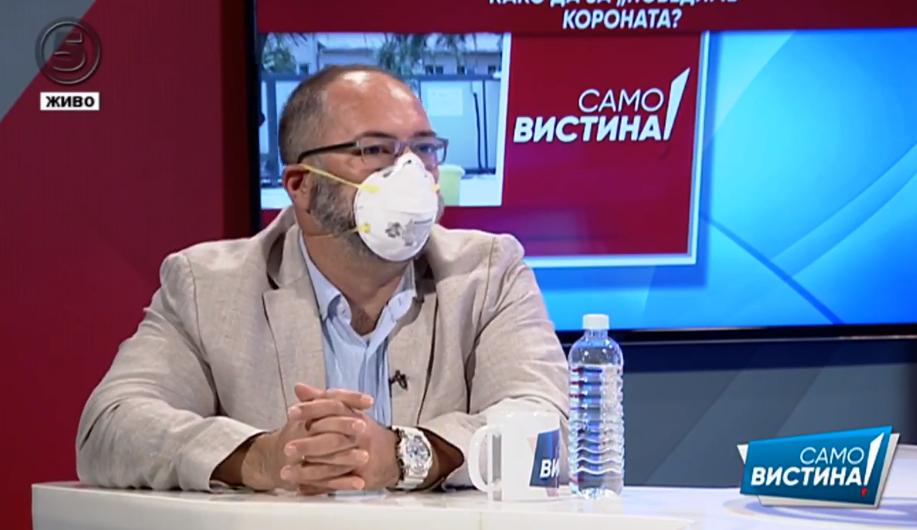 Ристески: Министерството за здравство во однос со справувањето со Ковид-19 има низа пропусти