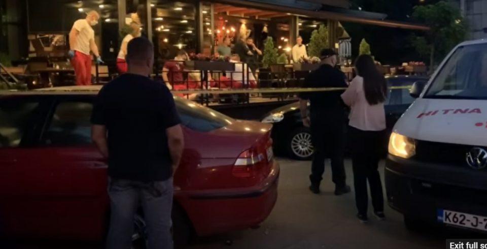 Пукање во ресторан во Сараево, повредено едно лице (ВИДЕО)