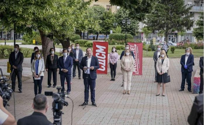 Ѓорѓиевски: Функционерите на СДСМ се најголемиот кластер на корона вирус во Република Македонија